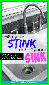 How To Clean A Smelly Kitchen Sink Kitchen Sink Stinks And Smelly Kitchen Sink How To Clean A Smelly