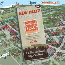 Map Of New Paltz New York by Advertising Opportunities