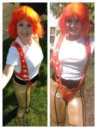 Leeloo Halloween Costume Cosplay Costume Weallsew