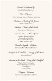 catholic church wedding program wedding program exles catholic wedding program wedding