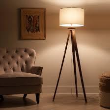 Lampshade For Floor Lamp Oak Wood Tripod Floor Lamp Threshold Target