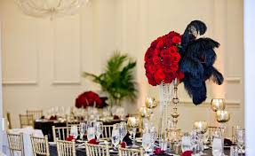 us grant black gold and red great gatsby wedding part 2 san