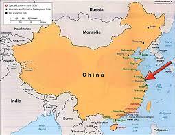 East China Sea Map Kontakt Anreise Mueko China Müko Maschinenbau Gmbh