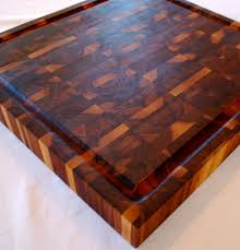 buy a custom made walnut end grain butcher block made to order