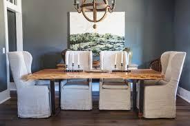 pecan slab dining table u2014 woodkith