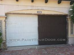Faux Paint Garage Door - light house point garage door restoration and painting wood