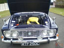 1965 ford zodiac executive mk3 rare manual version