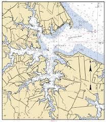 Potomac River On Map Potomac River Yeocomico River Va Inset 4 Nautical Chart νοαα