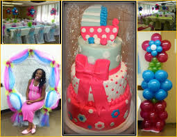 tonz of fun entertainment baby shower balloon decor