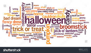 free halloween background for word halloween words