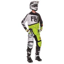 fly racing motocross fly racing 2017 f 16 jersey pant package black lime available at