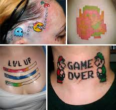 geek tattoos gone wrong gaming u0026 computing pinterest