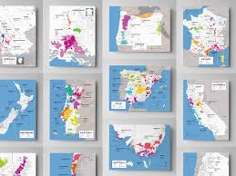 Southern Oregon Map by Updated Wine Maps Of The World Wine Folly