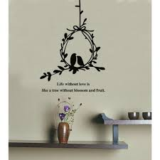 olive branch and birds with quotes wall decal wall art decals olive branch and birds with quotes wall decal