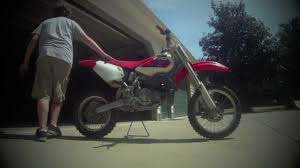 2002 honda cr80 cold start and ride gopro youtube