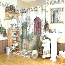 Country Shower Curtains For The Bathroom Country Shower Curtains Venkatweetz Me