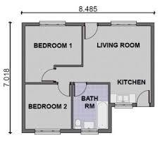 simple houseplans simple house plans 2 bedroom homes floor plans
