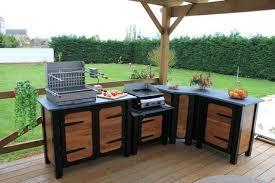 construire sa cuisine d été comment construire une cuisine exterieure cuisine en