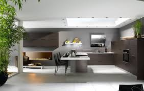 U Shaped Modern Kitchen Designs Beautiful L Shape Modern Style Kitchen Features Orange Color