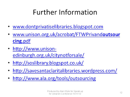 Edinburgh Council Procurement Strategy Library Privatisation In The Uk Ppt