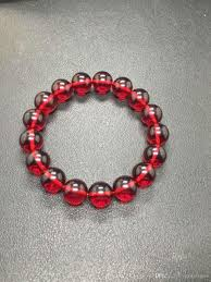 red beads bracelet images 2018 12mm 100 natural mexican blood red amber bead bracelet from jpg