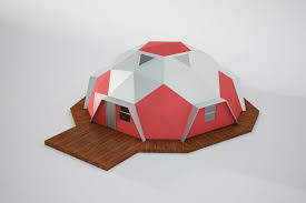 geodome house geodome house 3d cgtrader