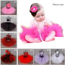 baby bday hot pink newborn baby birthday party tutu skirt lovely infant