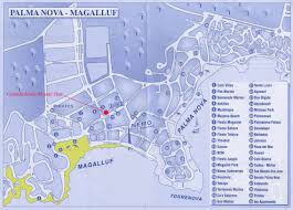 Mallorca Spain Map by Palma Nova Tourist Map Palma Nova U2022 Mappery