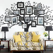 Tree Wall Decals For Living Room Creative Gallery Wall Ideas Wall Decals Walls And Frames Ideas