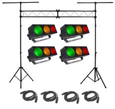 Package Mapping Chauvet Dj Lighting 4 Core 3x1 Linear Tri Color Rgb Pixel