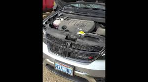 how to jump start a dodge journey with hidden battery youtube