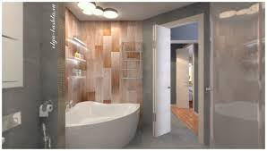 8 square meters 3d visualization bathroom area of 8 square meters m in style