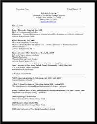 Psychology Resume Template Cover Letter Psychology Resume Template Psychology Student Resume