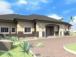 nigerian house plan 4 bedroom bungalow 4 bedrooms bungalow design
