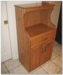 Microwave Stand Oak Microwave Stand With Hutch Cabinet Home Decorating Ideas