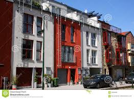 row houses scandinavian row houses stock photo image of buildings 5356492