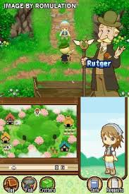ds roms for android harvest moon ds the tale of two towns usa nds nintendo ds