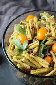 easy pasta salad easy pesto pasta salad garden in the kitchen