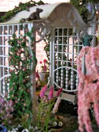 blukatkraft dollhouse miniatures conservatory and garden