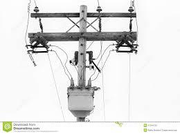 power pole componets stock photo image 51244725