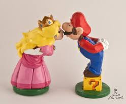 mario cake topper and wedding cake toppers my custom cake topper