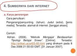 panduan penulisan daftar pustaka dari jurnal cara penulisan daftar pustaka dari internet khoerul web