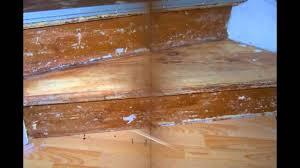 treppe mit vinyl bekleben treppe renovieren mit laminat und linoleum