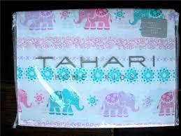 Elephant Twin Bedding Amazon Com Tahari Home Kids Twin Sheet Set Elephants Home