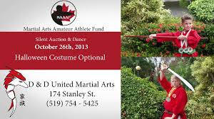 d u0026d united martial arts amateur athlete fund brantford 2