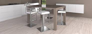 table de cuisine design table de bar extensible cheap salon de jardin tabouret de