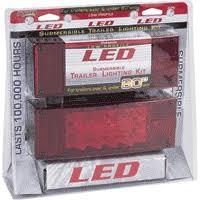 Blazer Trailer Lights Blazer Led Tail Light Kit Low Profile C7280 Trailer Leds Led