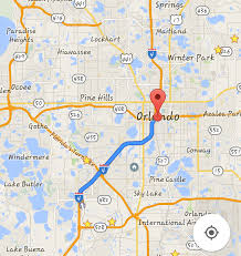 Map Of Downtown Orlando by Ambitious Your Guide To Getting The F Off I 4 And Using