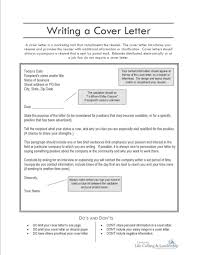 brilliant ideas of what goes on a cover letter for a resume about