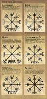 real rune magick the vegvísir or runic compass ink pinterest